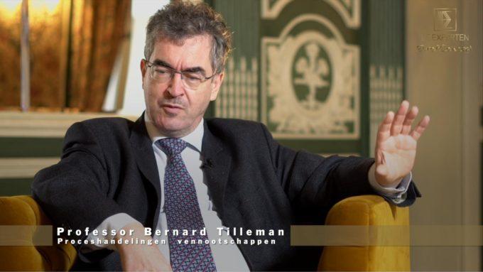 Bernard Tilleman - Proceshandelingen van en tegen vennootschappen